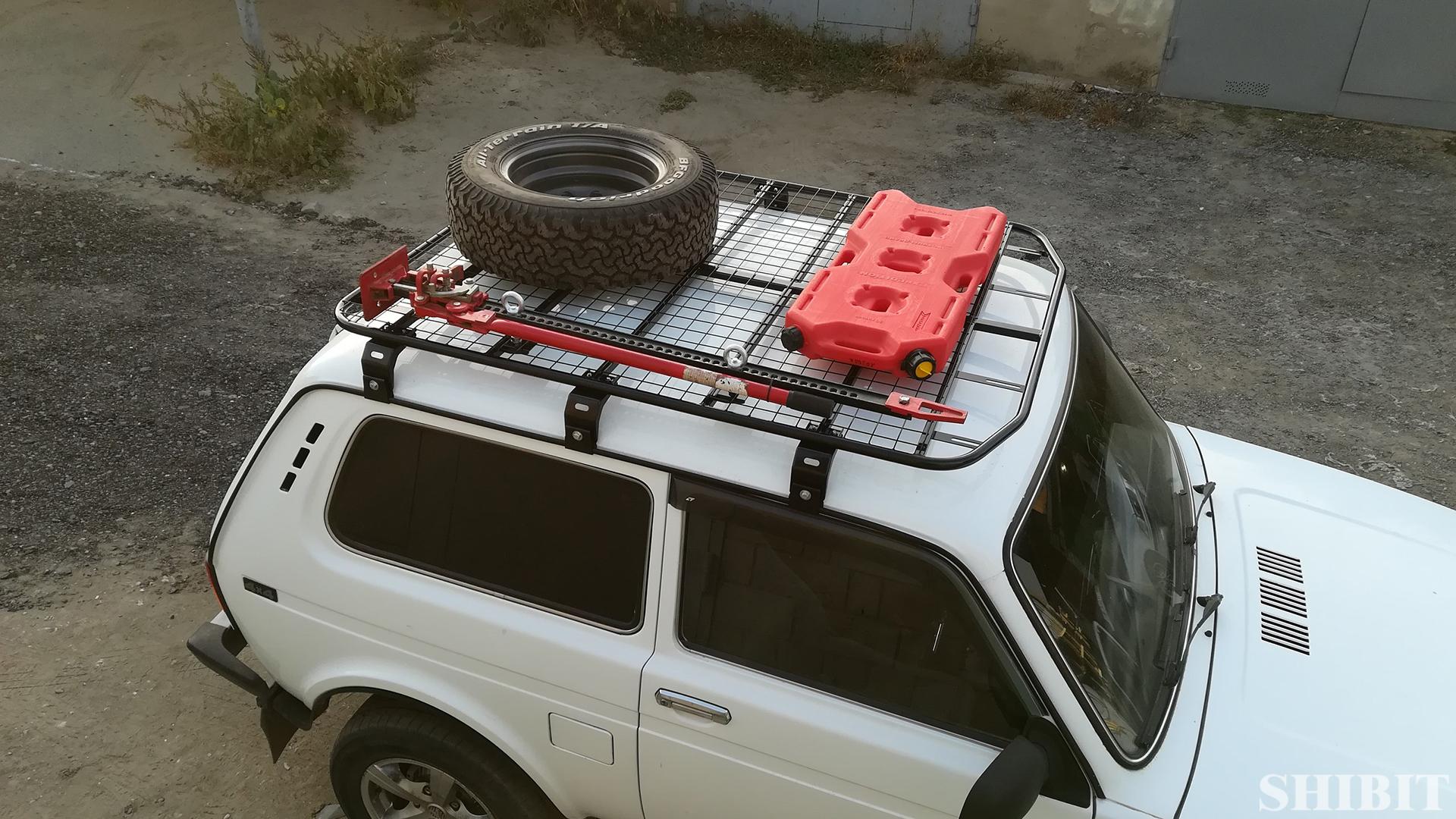 Экспедиционная платформа на Ниву